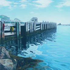 terrence bay wharf (private collection)